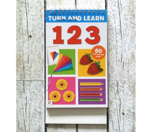 Turn and Learn - 123 - Wipe Clean Pad