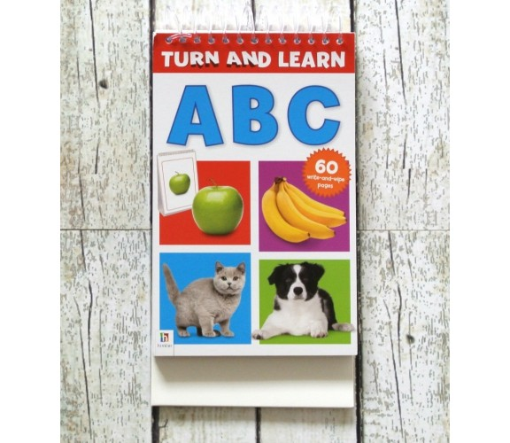 Turn and Learn - ABC - Wipe Clean Pad