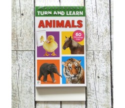 Turn and Learn - Animals - Wipe Clean Pad