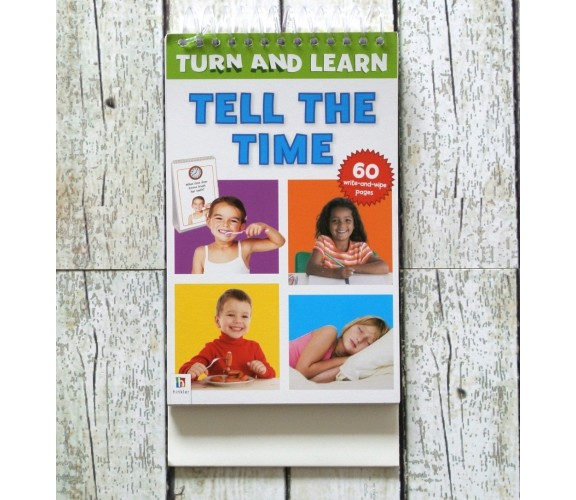Turn and Learn - Tell The Time - Wipe Clean Pad