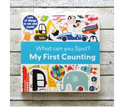 What Can You Spot? My First Counting - Look and Find Board Book