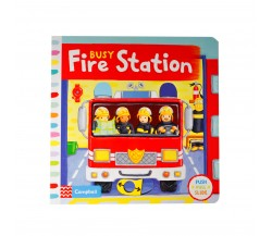 Campbell - Busy Fire Station - Push, Pull, Slide Book