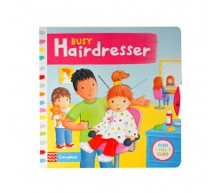 Campbell - Busy Hairdresser - Push, Pull, Slide Book