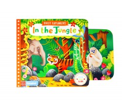 Campbell - First Explorers : In the Jungle - Push, Pull, Slide Book