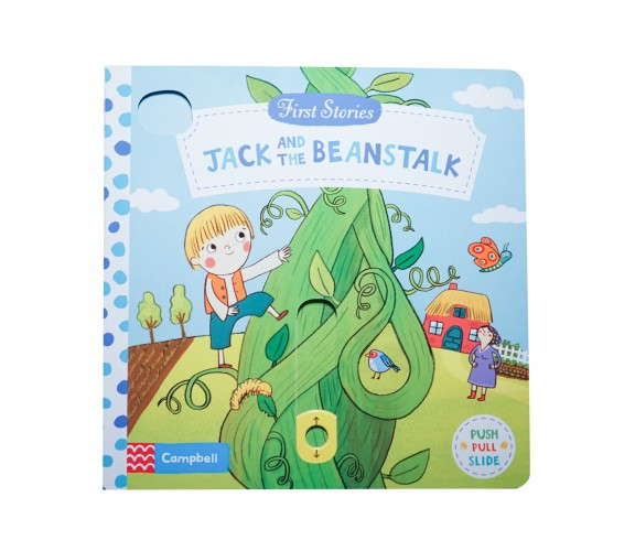 Campbell - First Stories : Jack and the Beanstalk - Push, Pull, Slide Book
