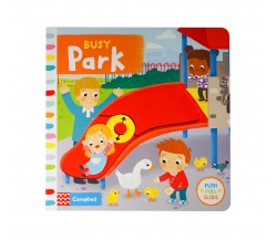 Campbell - Busy Park - Push, Pull, Slide Book