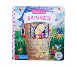 Campbell - First Stories : Rapunzel - Push, Pull, Slide Book