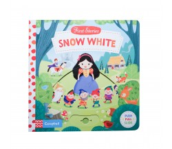 Campbell - First Stories : Snow White - Push, Pull, Slide Book