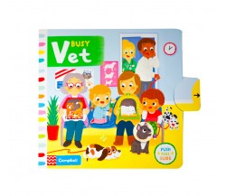 Campbell - Busy Vet - Push, Pull, Slide Book