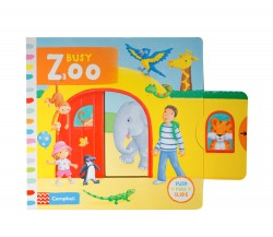 Campbell - Busy Zoo - Push, Pull, Slide Book