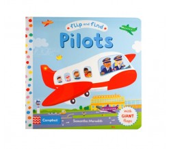 Campbell - Flip and Find Pilots - With Giant Flaps