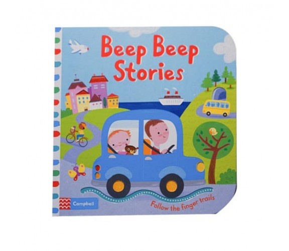 Campbell - Beep Beep Stories - Follow The Finger trails Book