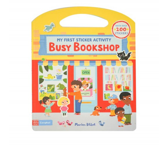 Campbell - Busy Bookshop: First Sticker Activity Book - With Over 200 Stickers