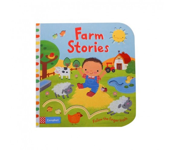 Campbell - Farm Stories - Follow The Finger trails Book