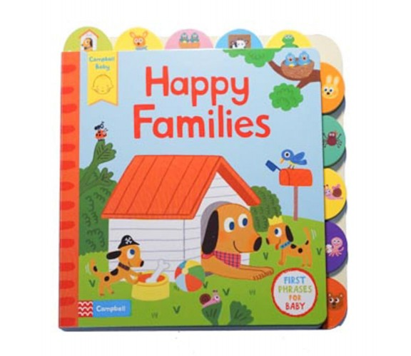 Campbell - Happy Families - First Phrases for Baby