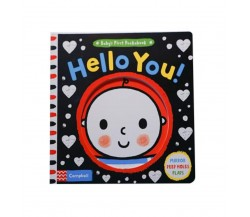 Campbell - Baby's First Peekabook: Hello You! - With Mirror, Peep Holes, Flaps