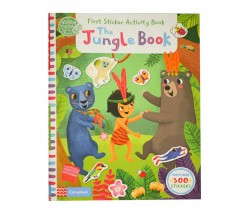 Campbell - The Jungle Book: First Sticker Activity Book - With Over 300 Stickers