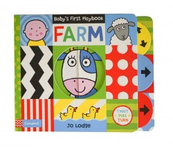 Campbell - Baby's First Playbook: Farm - With Shiny Miror