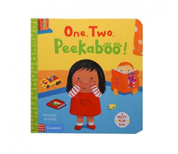 Campbell - One, Two, Peekaboo! - Felty Flaps Book