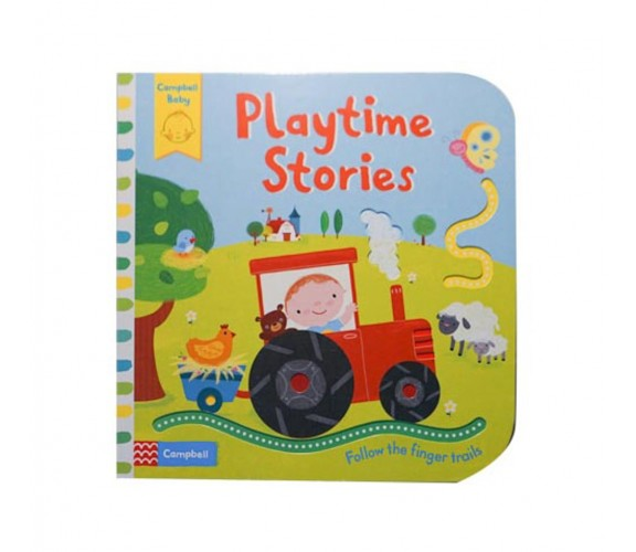 Campbell - Playtime Stories - Follow The Finger trails Book