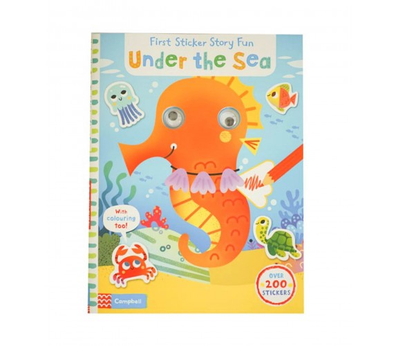 Campbell - Under the Sea - First Sticker Story Fun with Over 200 Stickers