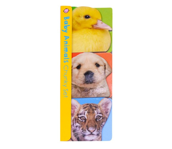 Priddy - Chunky Sets : Baby Animals Board Books (Set of 3 Books)
