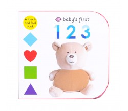 Priddy - Baby's First 123 - A Touch and Feel Board Book