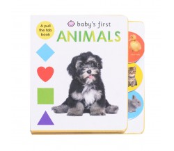 Priddy - Baby's First Animals - A Pull the Tab Board Book