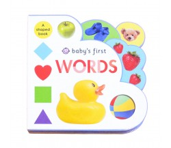 Priddy - Baby's First Words - A Fun Shaped Board Book