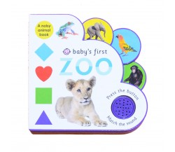 Priddy - Baby's First Zoo - A Noisy Animal Sound Board Book