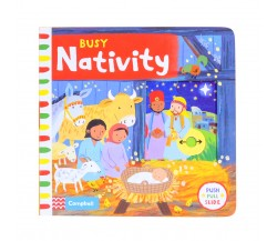 Campbell - Busy Nativity - Push, Pull, Slide Book