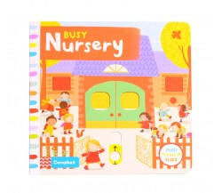Campbell - Busy Nursery - Push, Pull, Slide Book