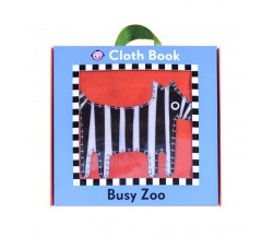 Priddy - Cloth Book : Busy Zoo