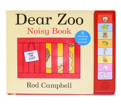 Dear Zoo Noisy Book - 8 Amazing animals sounds