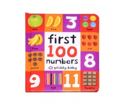Priddy Baby - First 100 Numbers Board Book