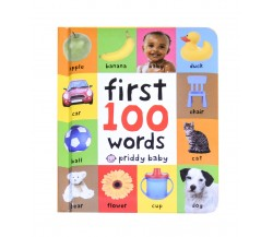 Priddy Baby - First 100 Words Board Book