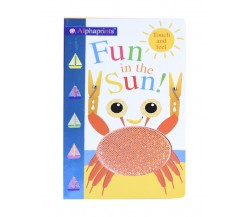 Priddy - Alphaprints Fun in the Sun touch and feel board book