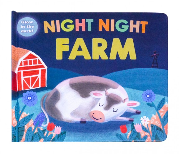 Night Night Farm - Glow in the dark Board Book