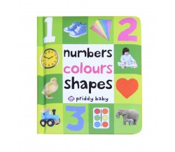 Priddy Baby - Numbers Colours Shapes Board Book