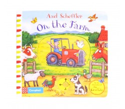 Campbell - On the Farm - Push, Pull, Slide Book