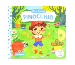 Campbell - First Stories : Pinocchio - Push, Pull, Slide Book