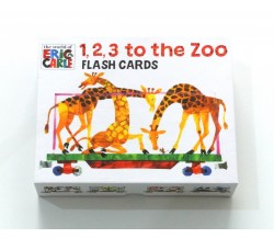 The World of Eric Carle™ 1, 2, 3, to the Zoo Flash Cards