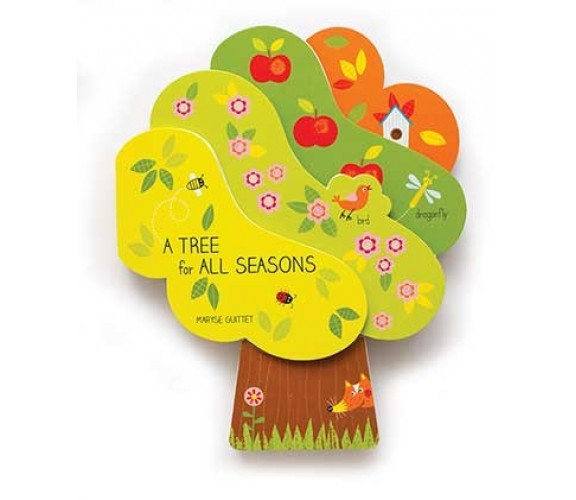 A Tree for All Seasons - Lift The Flap Board Book