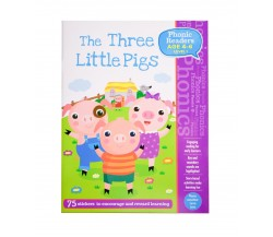 Three Little Pigs - LV1 Phonic Readers Age 4-6