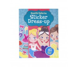 Beautiful Ballerina Sticker Dress-up with over 150 stickers