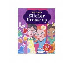 Best Friends Sticker Dress-up with over 150 stickers