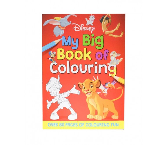 Disney - My Big Book Of Colouring