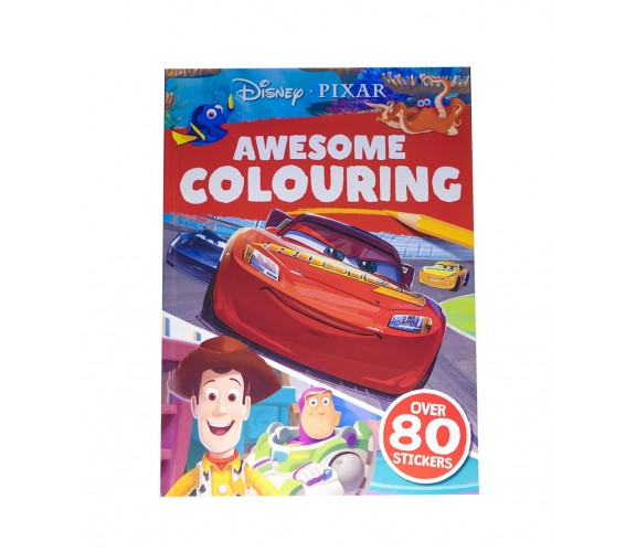 Disney PIXAR: Awesome Colouring - With over 80 stickers