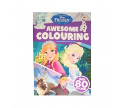 Disney FROZEN: Awesome Colouring - With over 80 stickers