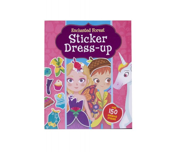 Enchanted Forest Sticker Dress-up with over 150 stickers
